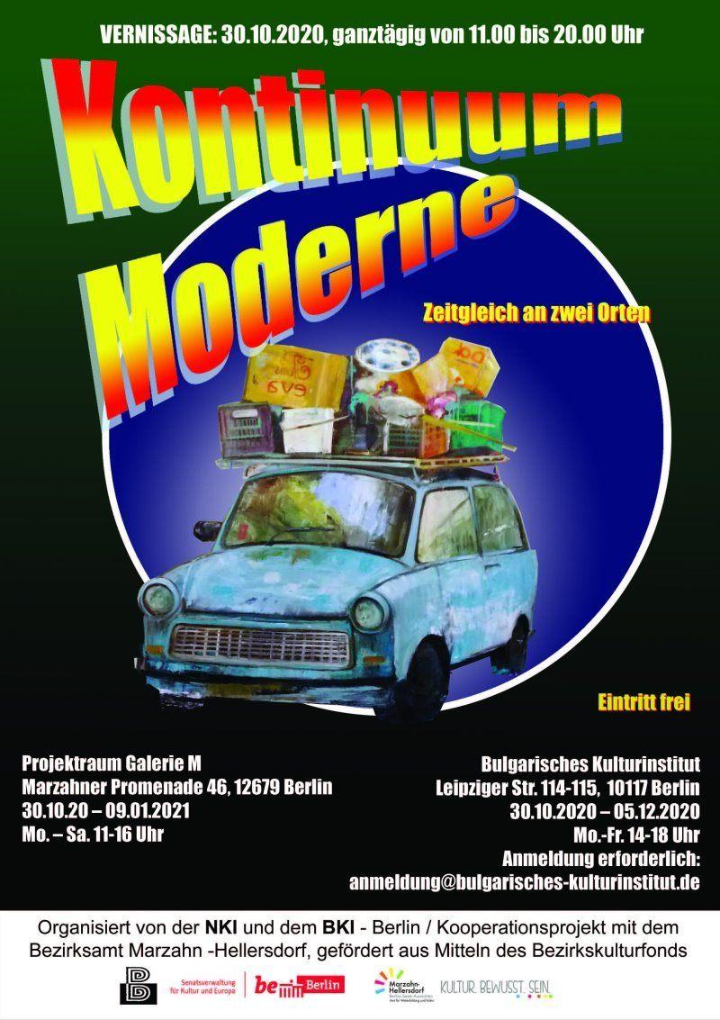 Kontinuum Moderne Plakat
