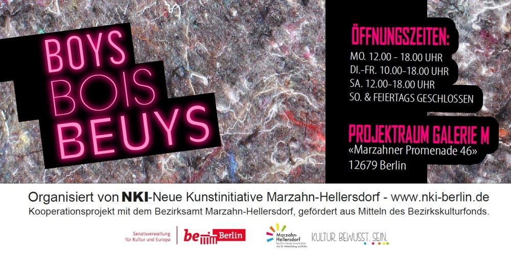 Boys Bois Beuys Flyer